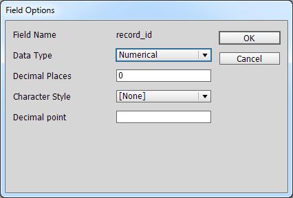 Edit fields to format data automatically – Teacup Help Center